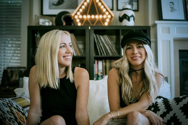 Amy and Jennifer Hood from Hoodzpah Design