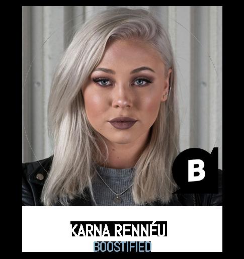 Karna Rennéus Boostified