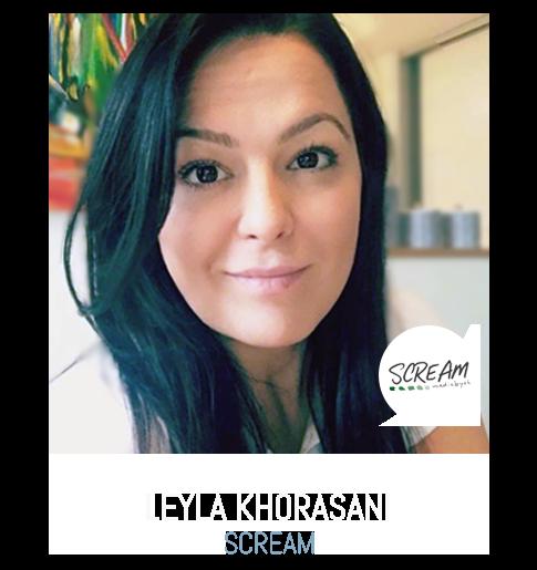 Leyla Khorasani Scream