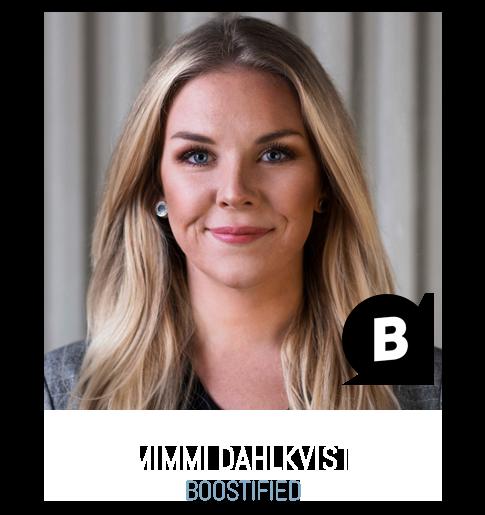 Mimmi Dahlkvist Boostified