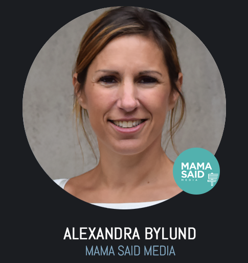 alexandra bylund Mama said media