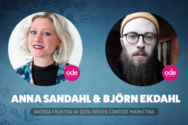 Skörda frukten av Data Driven Content Marketing