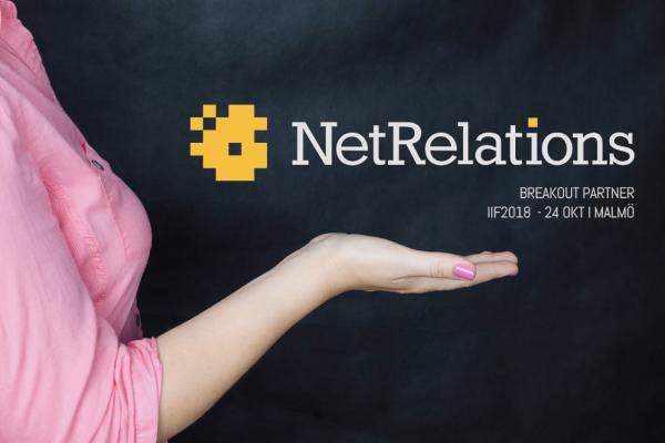 Netrelations bjuder på frukostseminarium + Breakout Session på IIF2018!