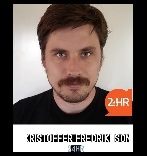 Kristoffer Fredriksson 24HR