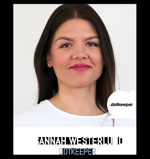 Sannah Westerlund dotkeeper