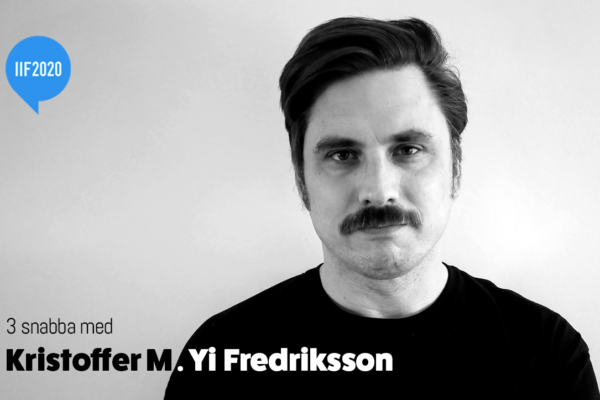 3 snabba med Kristoffer Yi Fredriksson