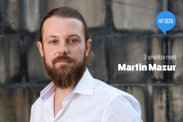3 snabba med Martin Mazur