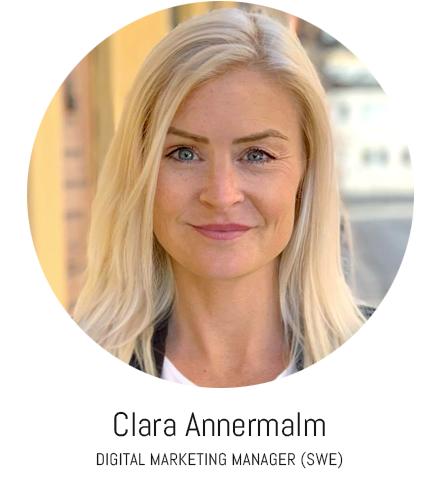 Clara Annermalm digital marketing